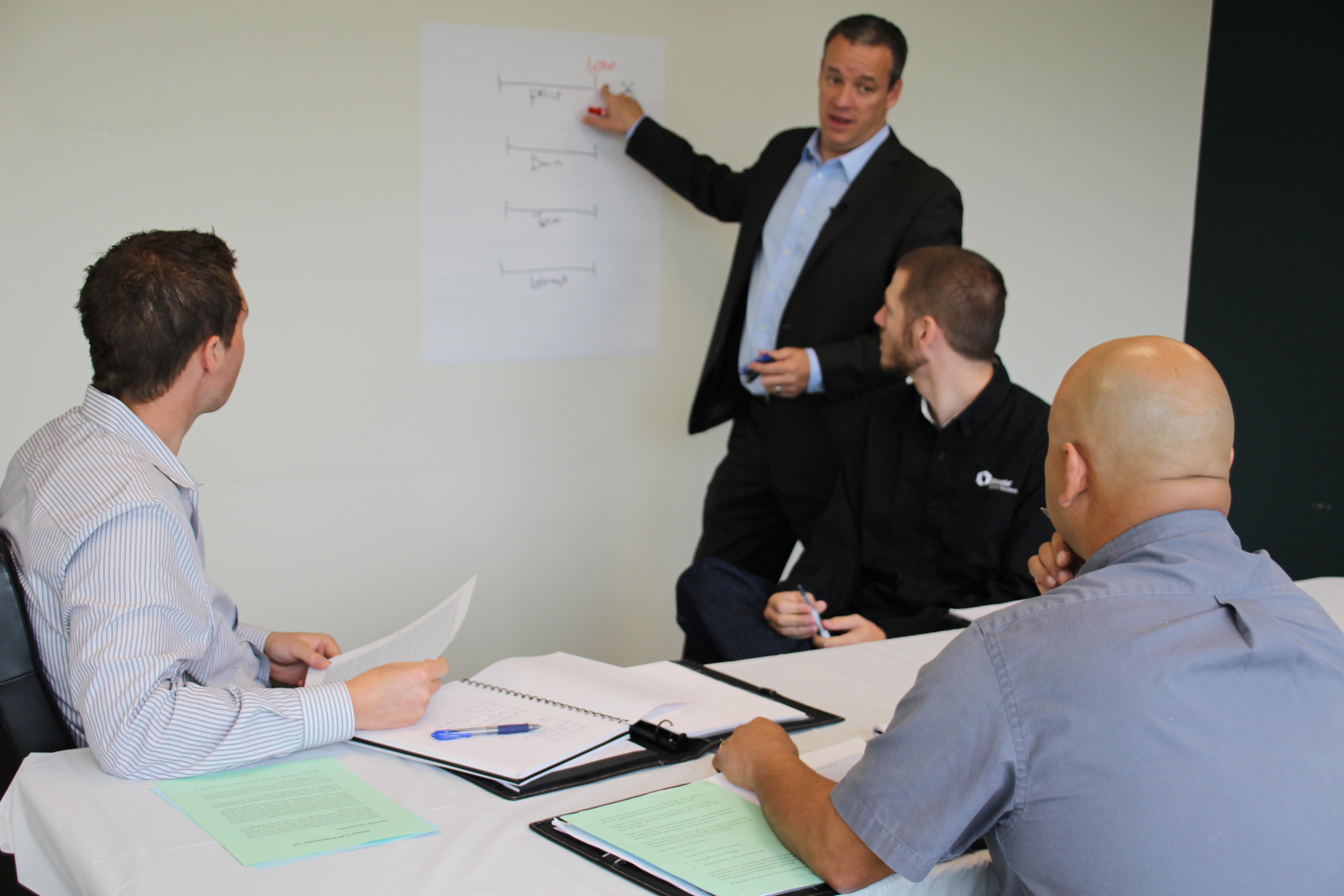 negotiation skills seminar break out session